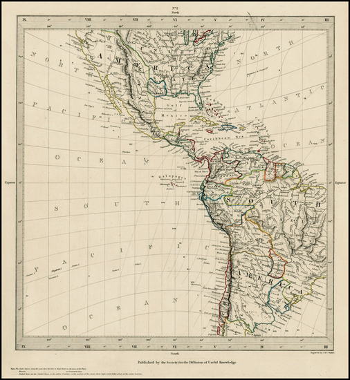 79-South America and America Map By SDUK