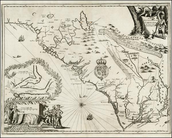 48-Southeast Map By John Ogilby - James Moxon