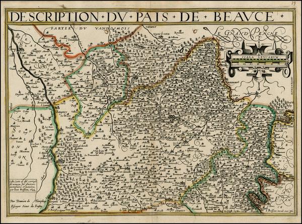 56-France Map By Jean Boisseau