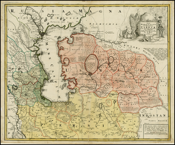 18-Russia, Ukraine and Central Asia & Caucasus Map By A Maas