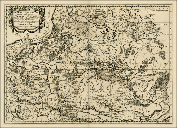 43-Poland, Ukraine and Baltic Countries Map By Pieter Mortier