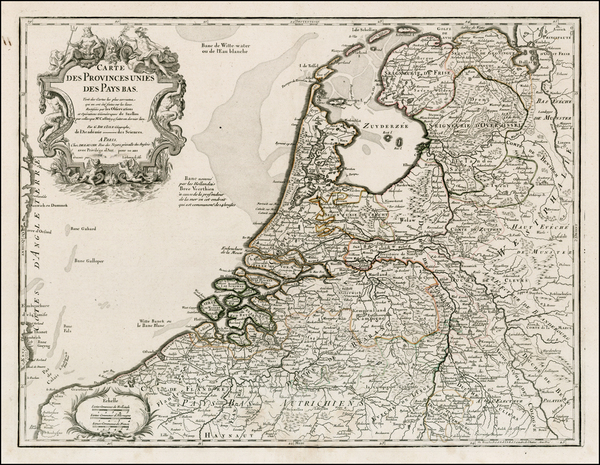 25-Netherlands Map By Jean-Claude Dezauche