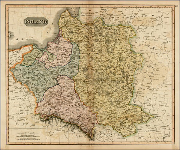 12-Poland and Baltic Countries Map By John Thomson