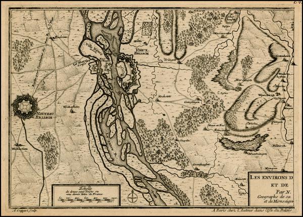 8-Germany Map By Nicolas de Fer