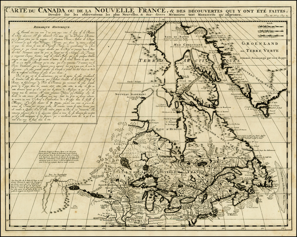 68-New England, Midwest and Canada Map By Henri Chatelain
