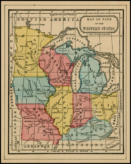 59-Midwest Map By David M. Warren