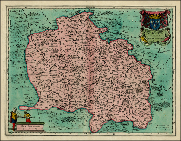 28-France Map By Willem Janszoon Blaeu