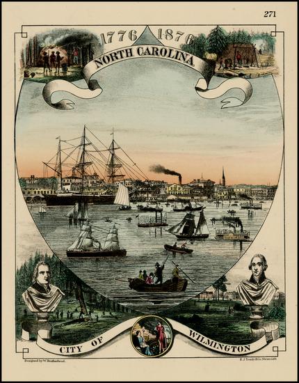 58-Southeast Map By H. J. Toudy