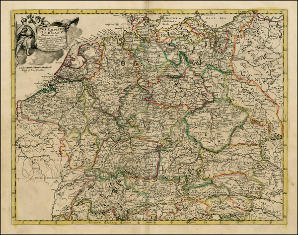 37-Netherlands, Luxembourg, Germany, Austria, Poland, Hungary, Baltic Countries and Balkans Map By