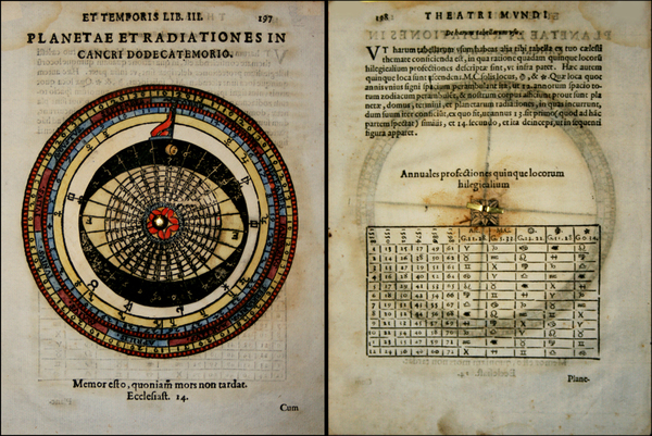 72-Curiosities and Celestial Maps Map By Giovanni Paolo  Galucci