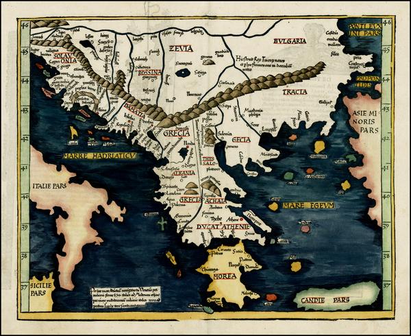 8-Greece Map By Lorenz Fries