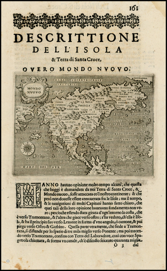 73-North America, Japan and Pacific Map By Tomasso Porcacchi