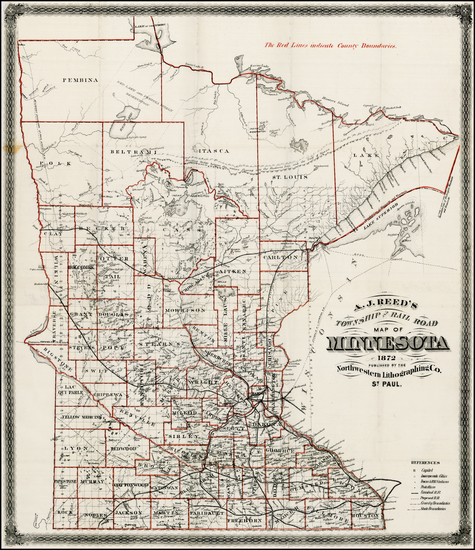 50-Midwest Map By A. J.  Reed
