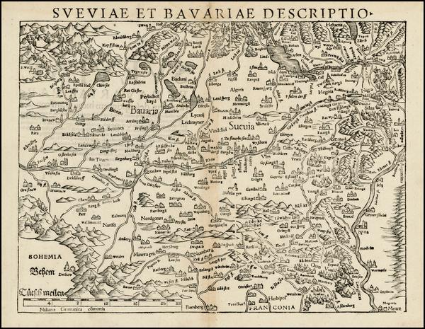 53-Germany Map By Sebastian Munster