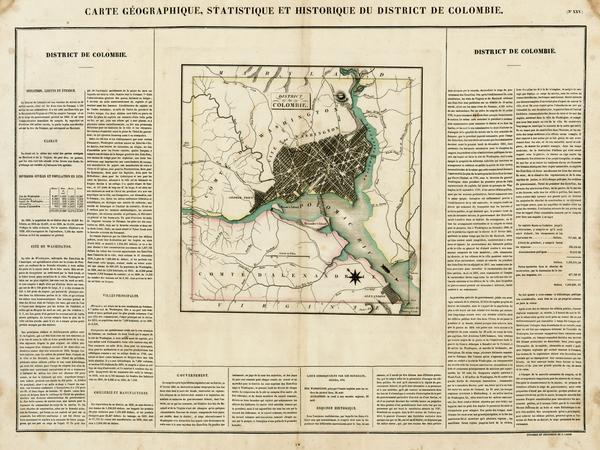 27-Mid-Atlantic and Washington, D.C. Map By Jean Alexandre Buchon