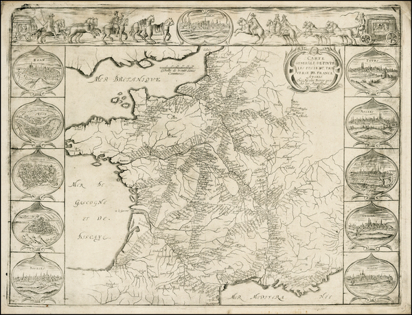16-France Map By Nicolas Berey