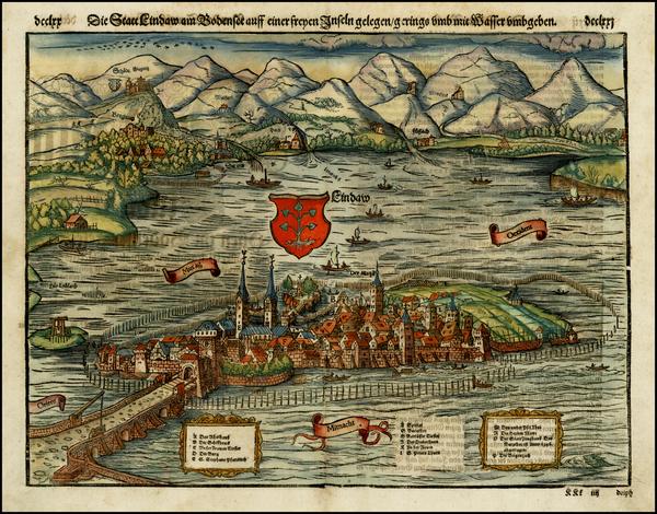 51-Germany Map By Sebastian Munster