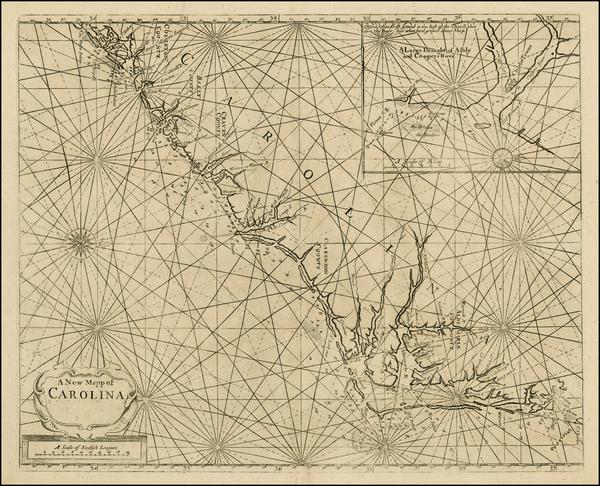 53-Southeast and North Carolina Map By John Thornton