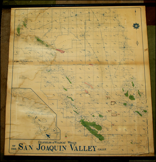 30-California Map By