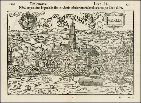80-Germany Map By Sebastian Munster