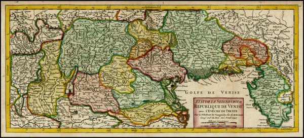 99-Balkans and Italy Map By Didier Robert de Vaugondy
