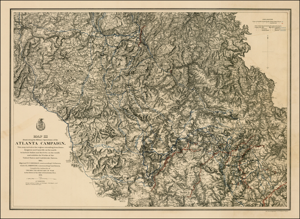 1-South and Southeast Map By United States War Dept.
