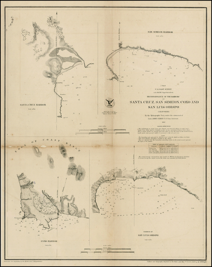 13-California Map By United States Coast Survey