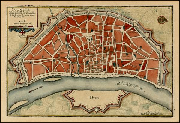 11-Germany Map By Nicolas de Fer