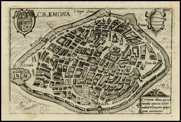 25-Italy Map By Pietro Bertelli