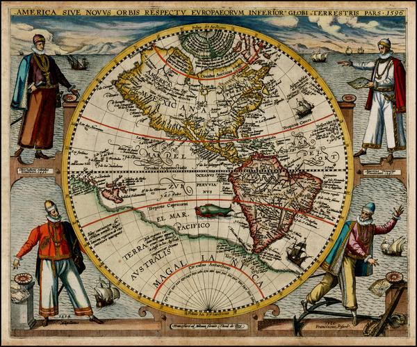 19-World, Western Hemisphere, North America, South America, Australia & Oceania, Australia, Oc