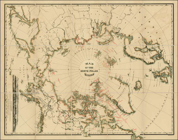 80-Polar Maps, Alaska, Canada, Russia and Scandinavia Map By William Bauman / The Graphic Co.