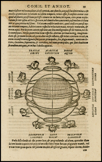 54-World, World, Curiosities and Celestial Maps Map By Giovanni Antonio Magini
