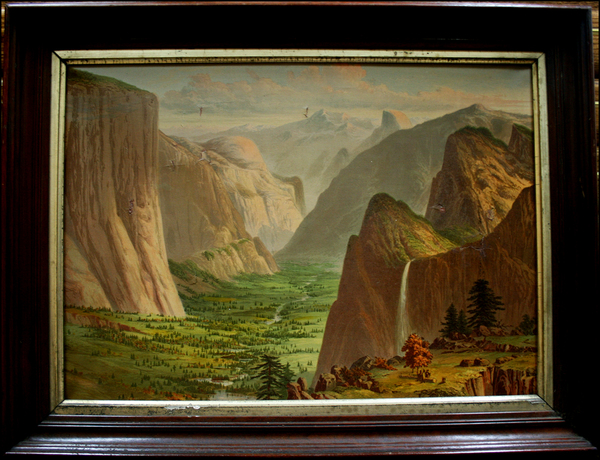 5-Yosemite Map By Charles H. Crosby & Co.