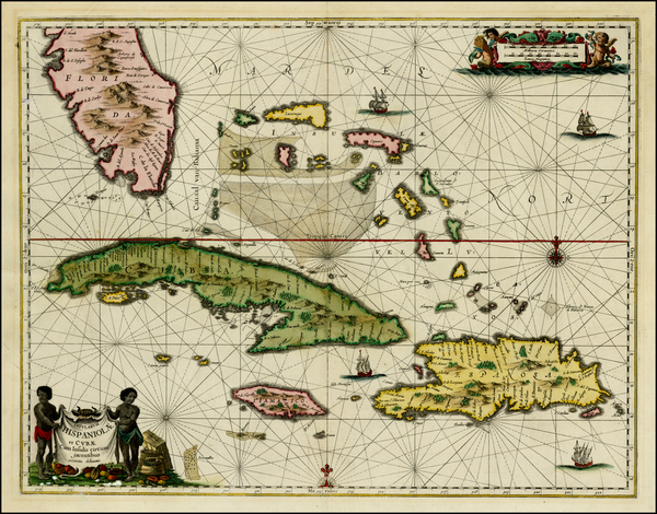12-Southeast and Caribbean Map By Jan Jansson