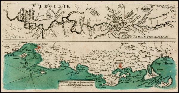 91-Midwest Map By Christian Friedrich von der Heiden