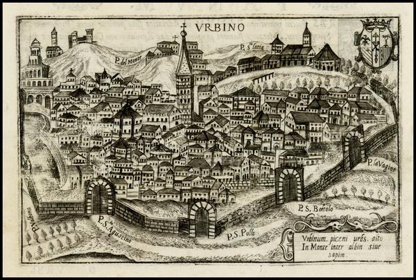 11-Italy Map By Pietro Bertelli
