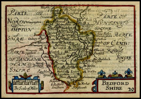 23-British Isles and British Counties Map By John Speed