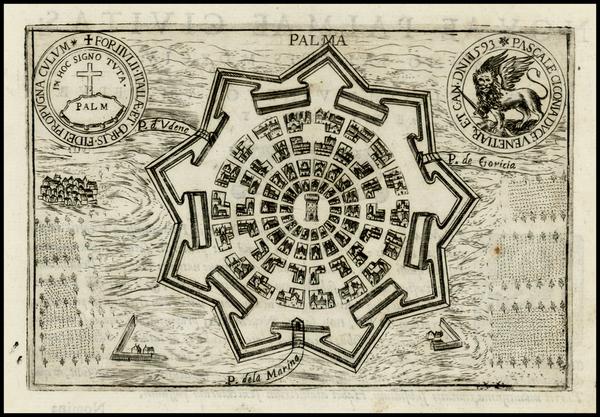 51-Italy Map By Pietro Bertelli