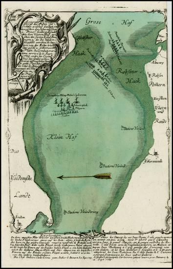 16-Germany, Poland, Baltic Countries and Scandinavia Map By Christian Friedrich von der Heiden