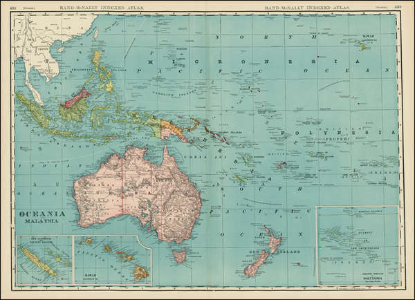 20-Hawaii, Southeast Asia, Other Islands, Australia & Oceania, Oceania, Hawaii and Other Pacif