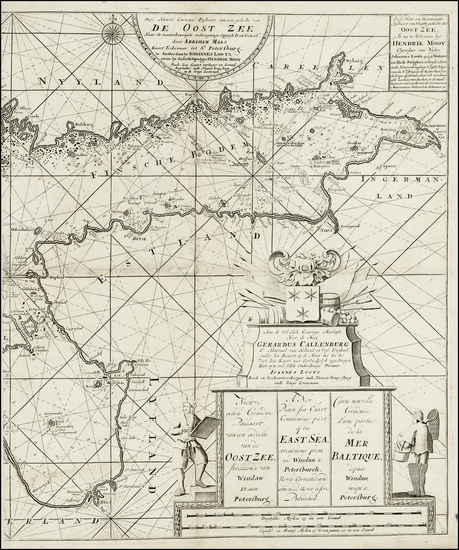27-Russia, Baltic Countries and Scandinavia Map By Johannes Loots