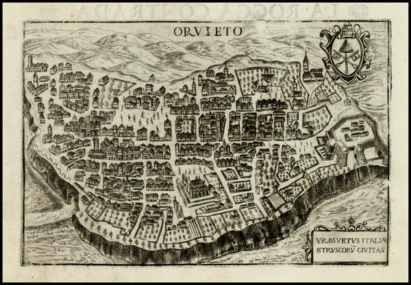 24-Italy Map By Pietro Bertelli