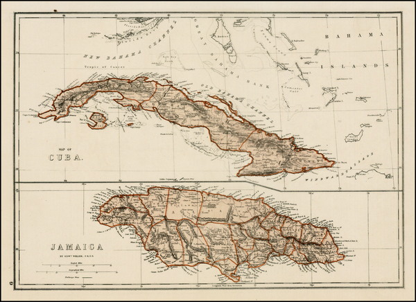 100-Caribbean Map By J. David Williams