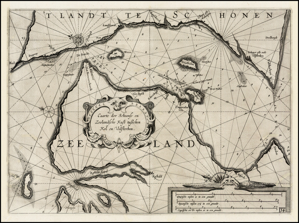 62-Scandinavia Map By Willem Janszoon Blaeu