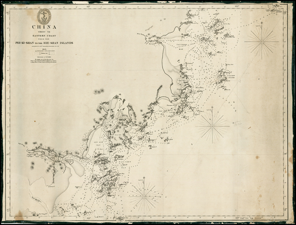 89-China Map By British Admiralty