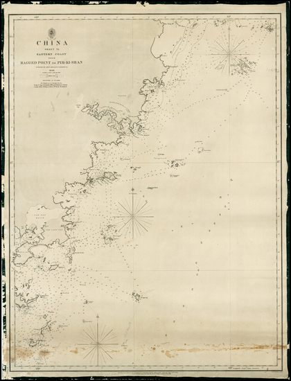 8-China Map By British Admiralty
