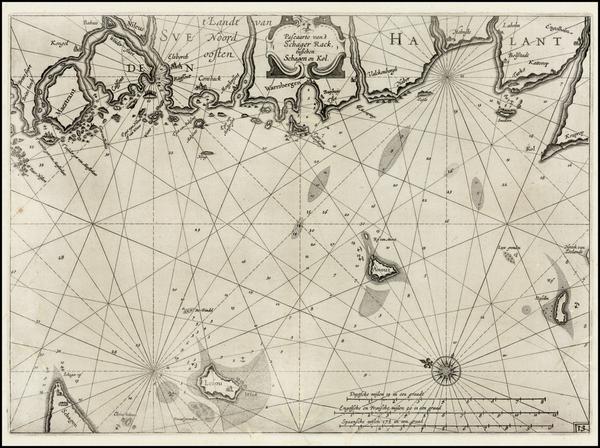 21-Scandinavia Map By Willem Janszoon Blaeu