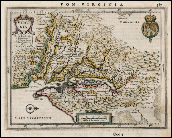76-Mid-Atlantic and Southeast Map By Jan Jansson