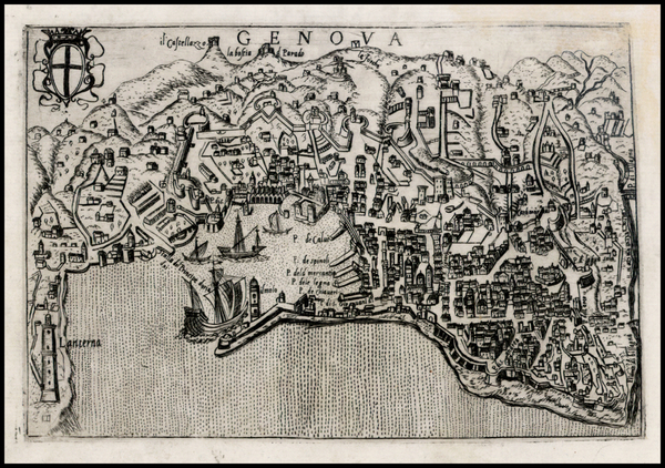 14-Italy and Other Italian Cities Map By Pietro Bertelli
