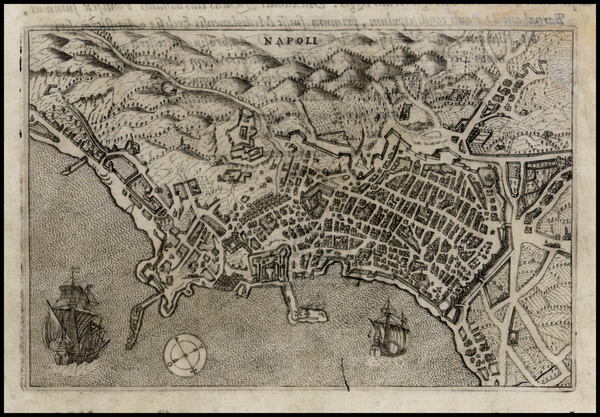 93-Italy Map By Pietro Bertelli